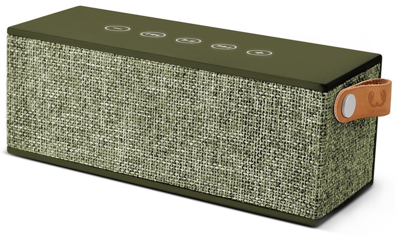 Głośnik bezprzewodowy Rockbox Brick Fabriq Edition zielony 1RB3000AR