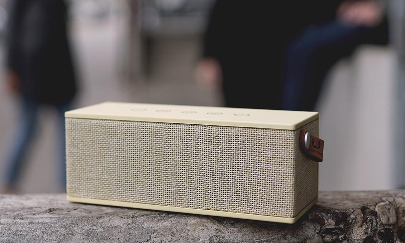 Głośnik bezprzewodowy Rockbox Brick Fabriq Edition żółty 1RB3000BC