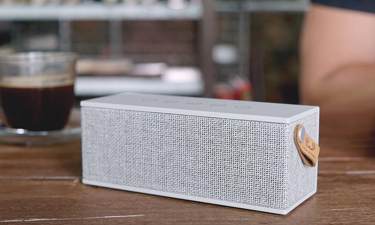 Głośnik bezprzewodowy Rockbox Brick Fabriq Edition szary 1RB3000CL