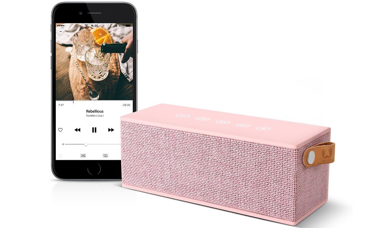 Głośnik Bluetooth Fresh N Rebel Cupcake 1RB3000CU różowy