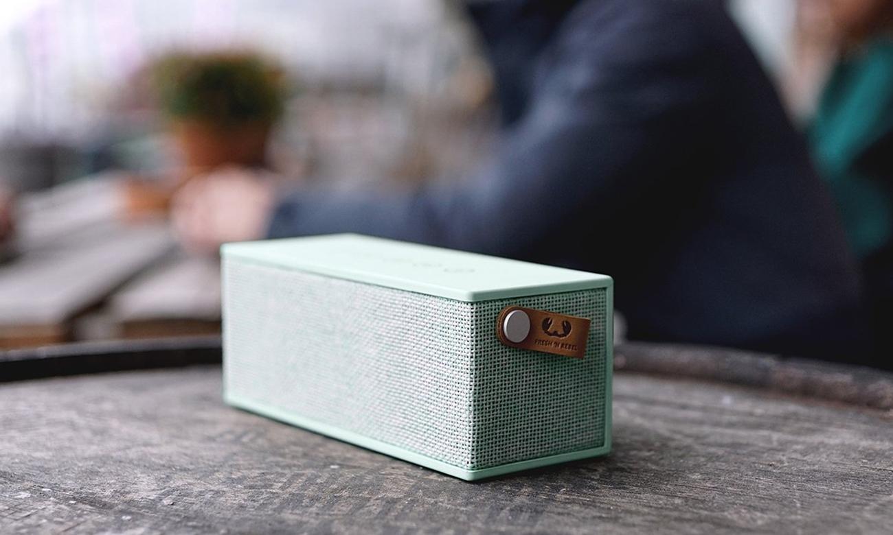 Głośnik bezprzewodowy Rockbox Brick Fabriq Edition jasno-zielony 1RB3000PT