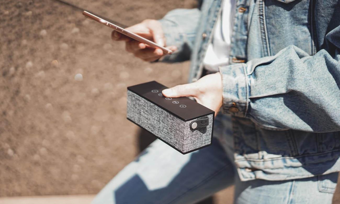 Głośnik Bluetooth Fresh N Rebel czarny