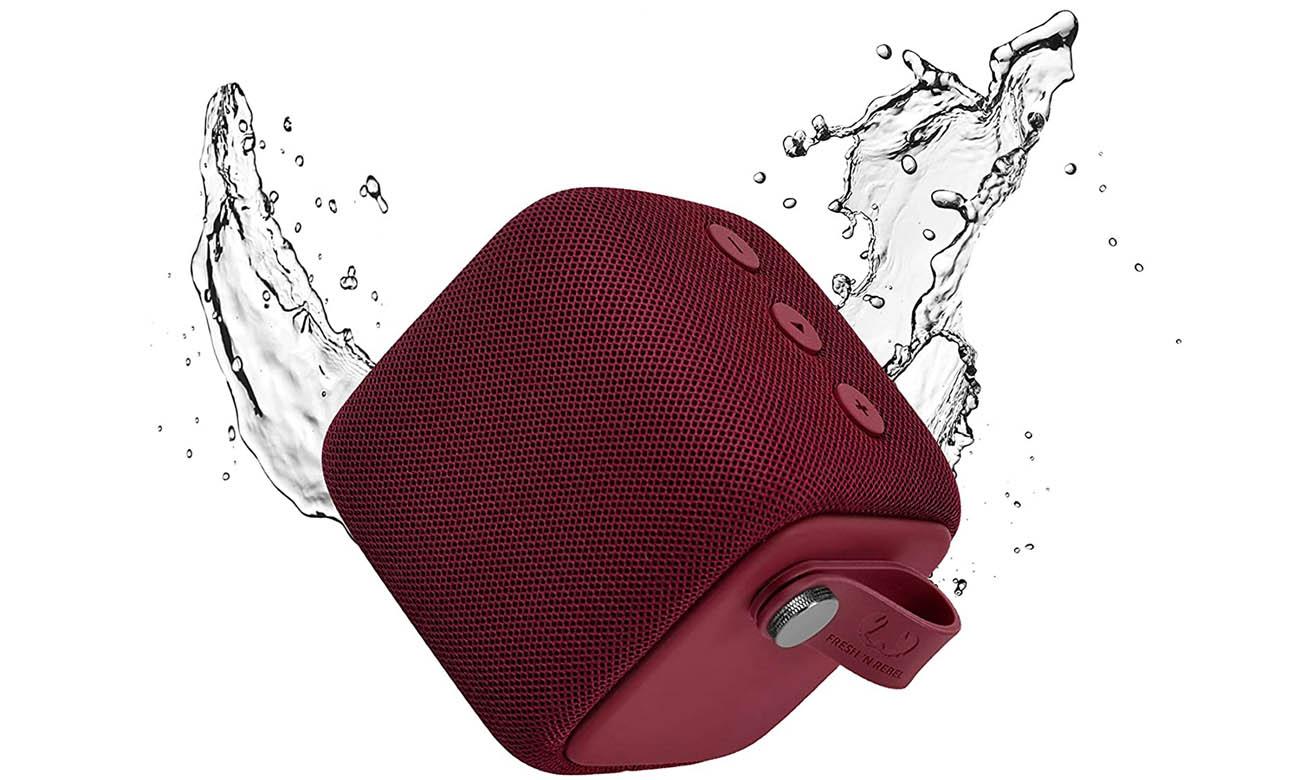 Wodoodporny Głośnik Bluetooth Fresh N Rebel Rockbox Bold s Ruby Red