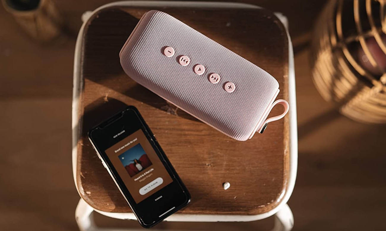 Głośnik Bluetooth Fresh N Rebel Rockbox Bold M Dusty Pink
