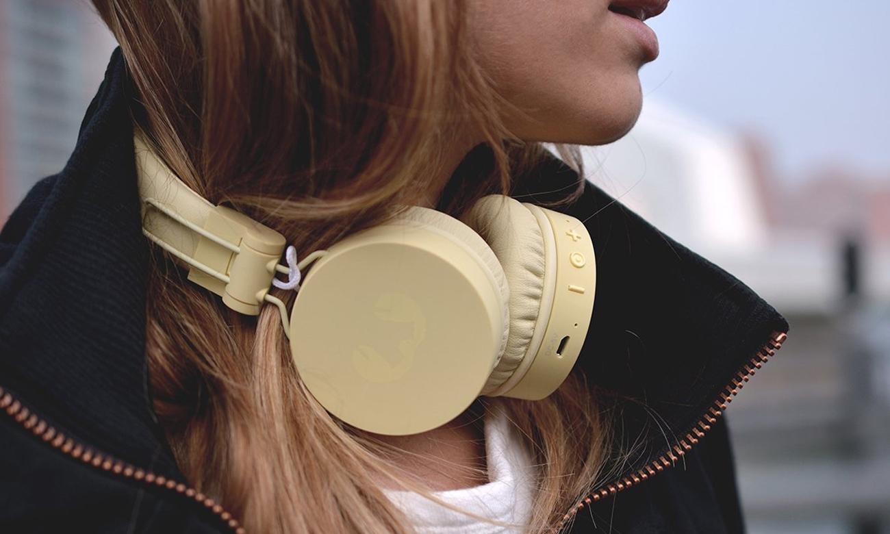 Słuchawki z Bluetooth Fresh 'n Rebel Caps Buttercup