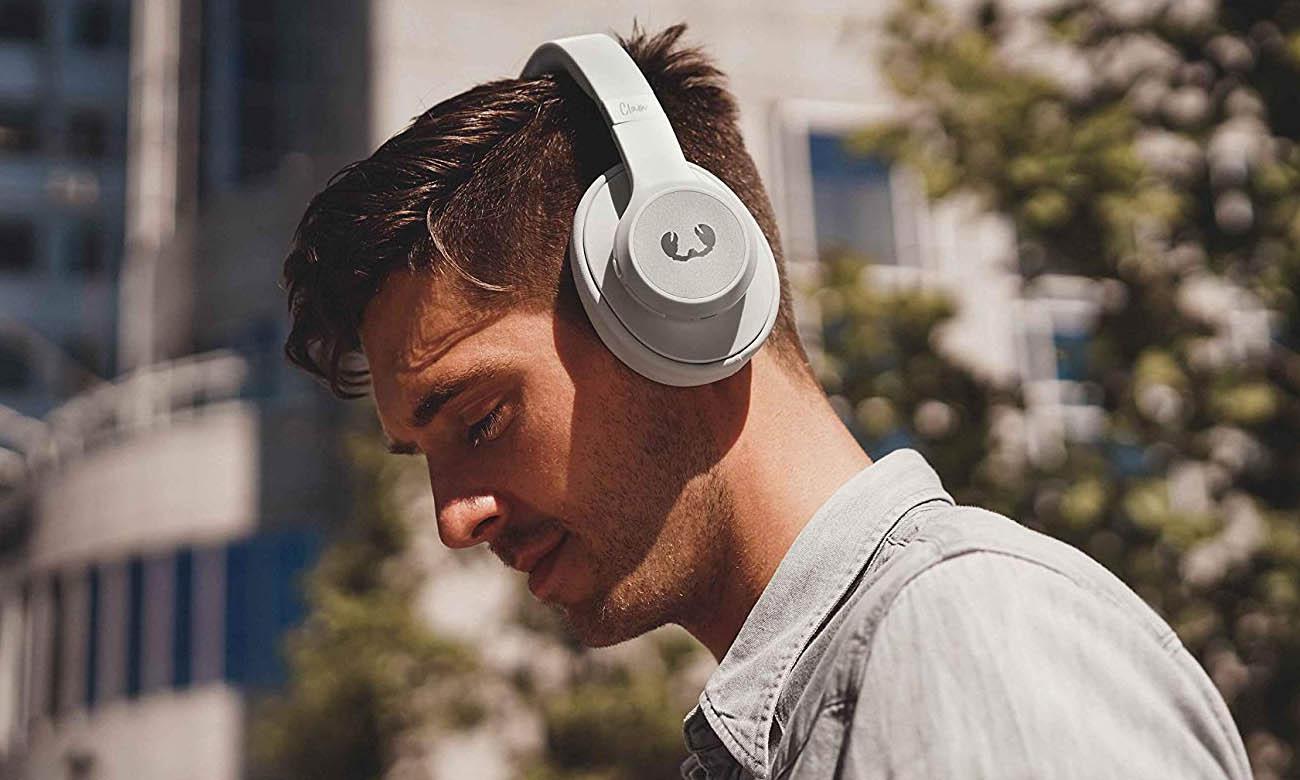 Słuchawki wokółuszne Fresh N Rebel Clam  Ice Grey