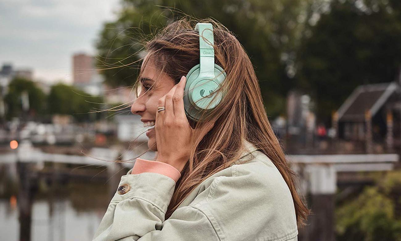 Słuchawki wokółuszne Fresh N Rebel Clam Misty Mint
