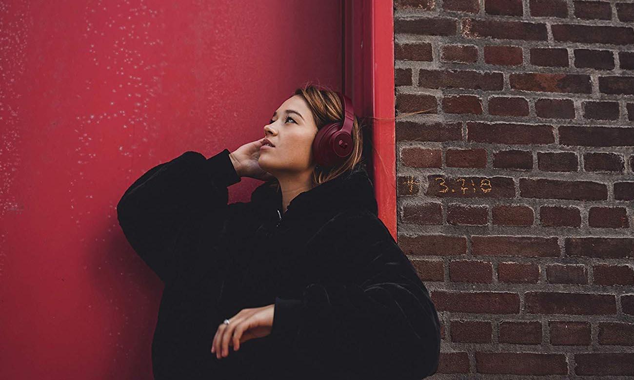 Słuchawki wokółuszne Fresh N Rebel Clam Ruby Red
