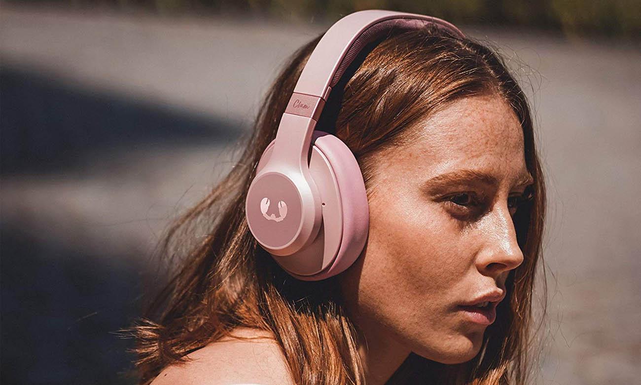Słuchawki wokółuszne Fresh N Rebel Clam ANC Dusty Pink