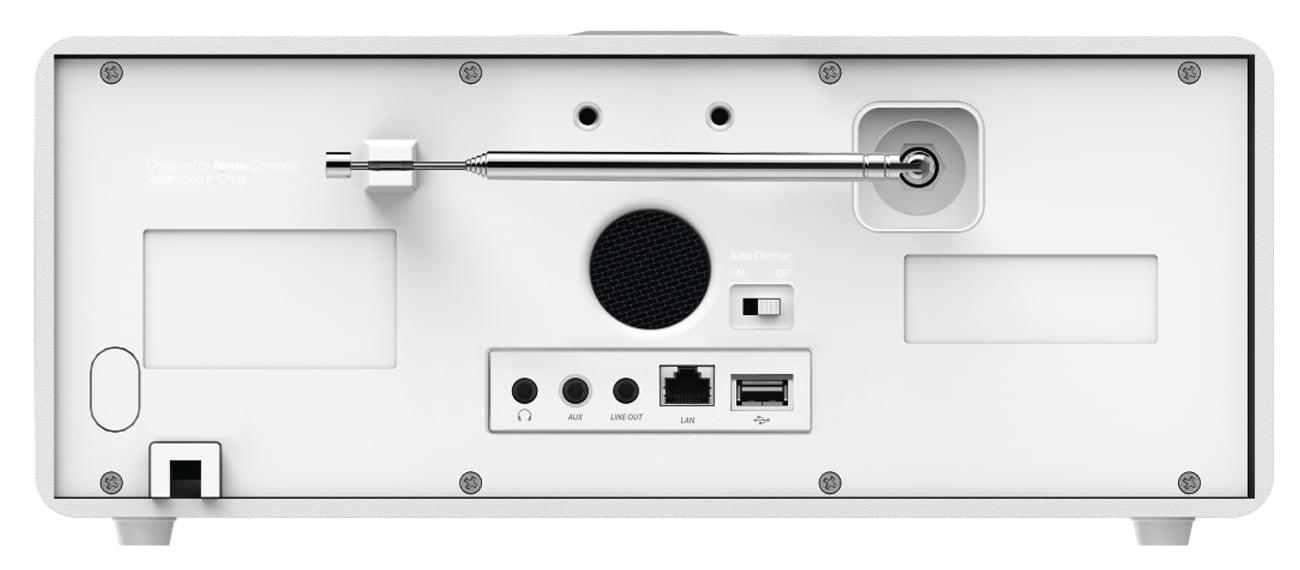 Niewielkie radio hybrydowe Hama DIR3115MS