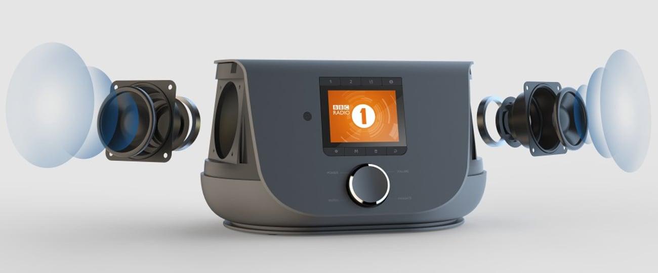 Niewielkie radio internetowe Hama DIR3300SBT