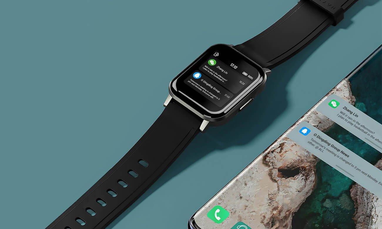 Inteligentny zegarek Haylou LS02 Czarny