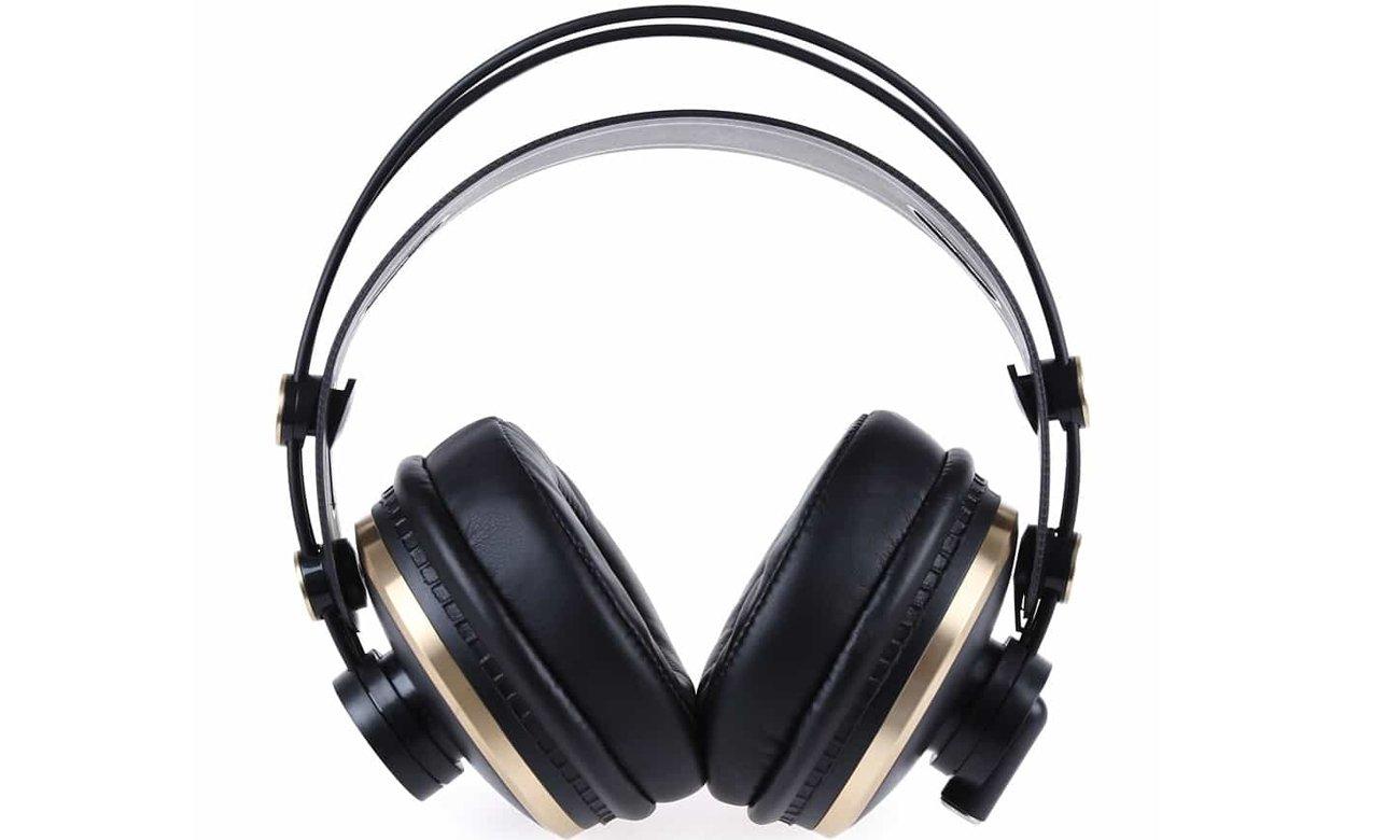 Dźwięk słuchawek nausznych ISK HD9999