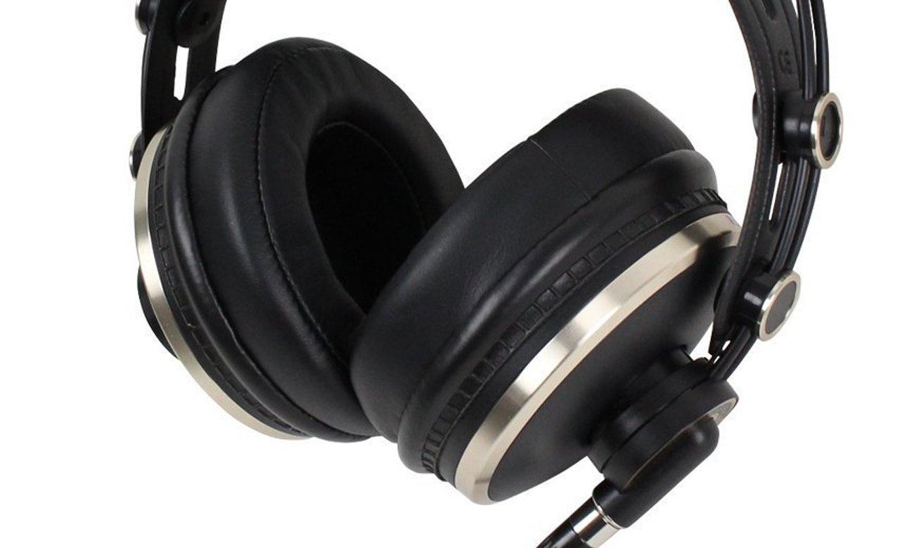 Wygodne słuchaweki nauszne z mocnym basem ISK HD9999