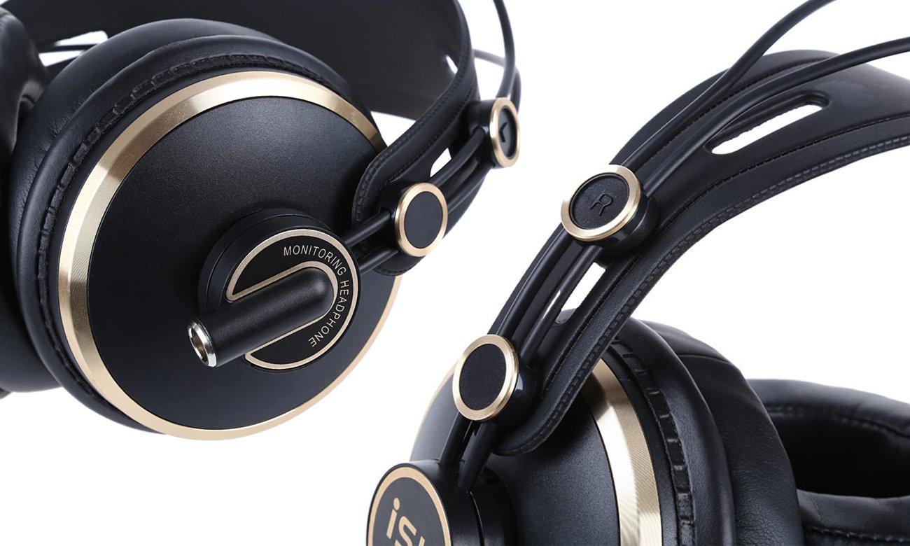 Słuchawki z odpinanym przewodem ISK HD9999