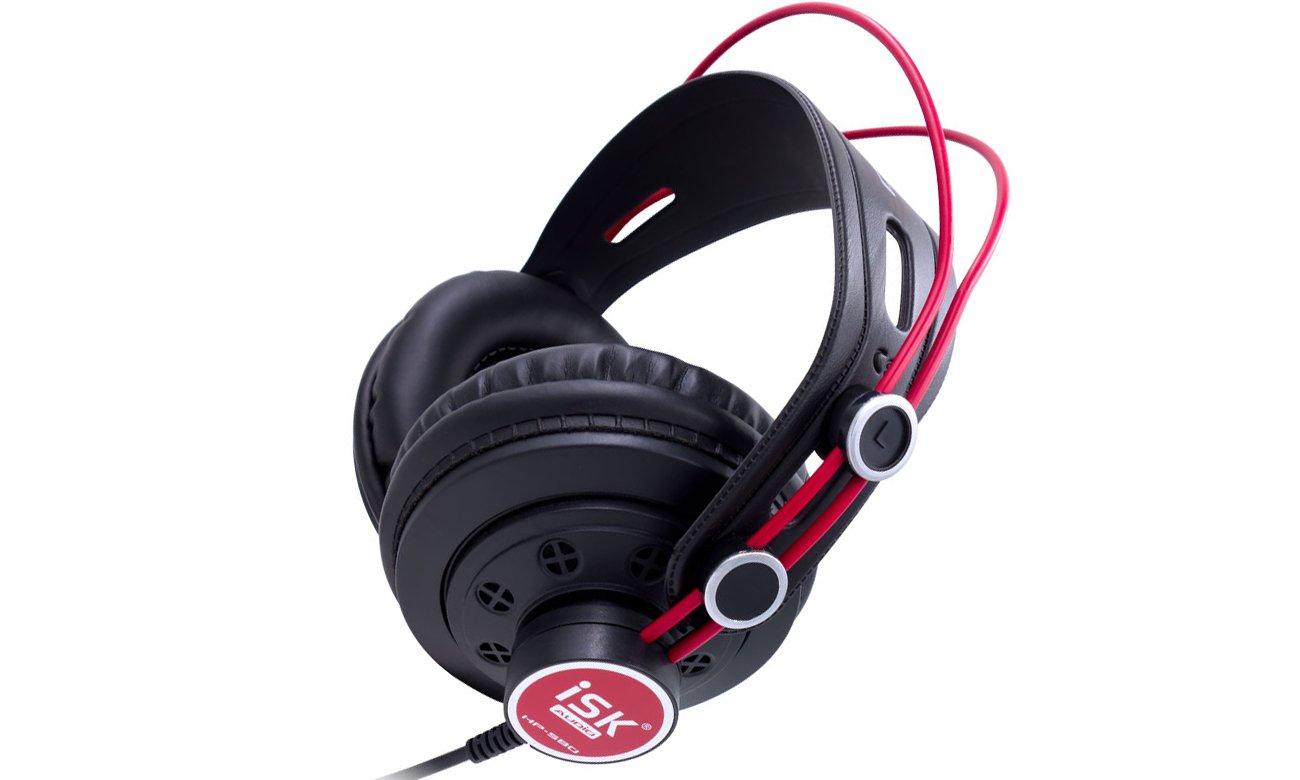 Słuchawki do monitorowania muzyki ISK HP-580