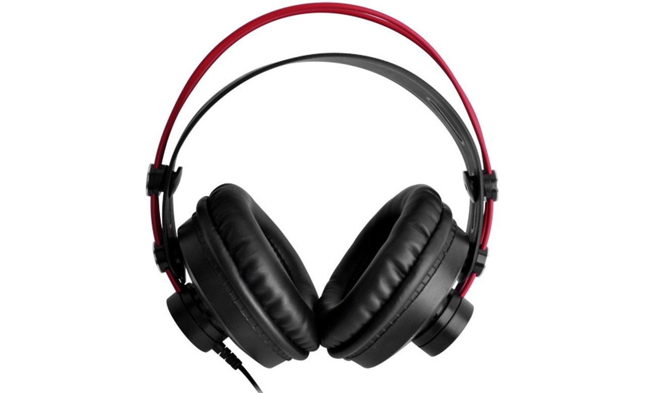 Wygodne słuchaweki nauszne ISK HP-580