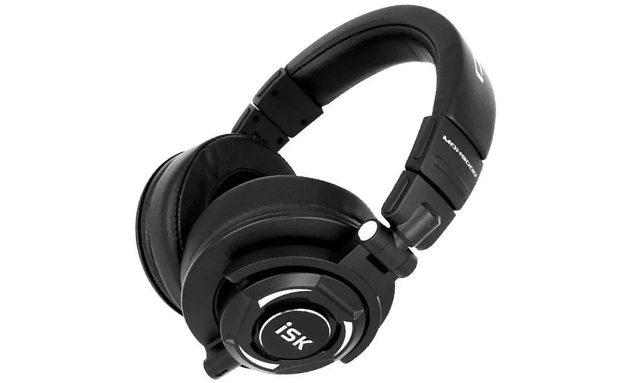 Słuchawki nauszne ISK MDH9000 czarne