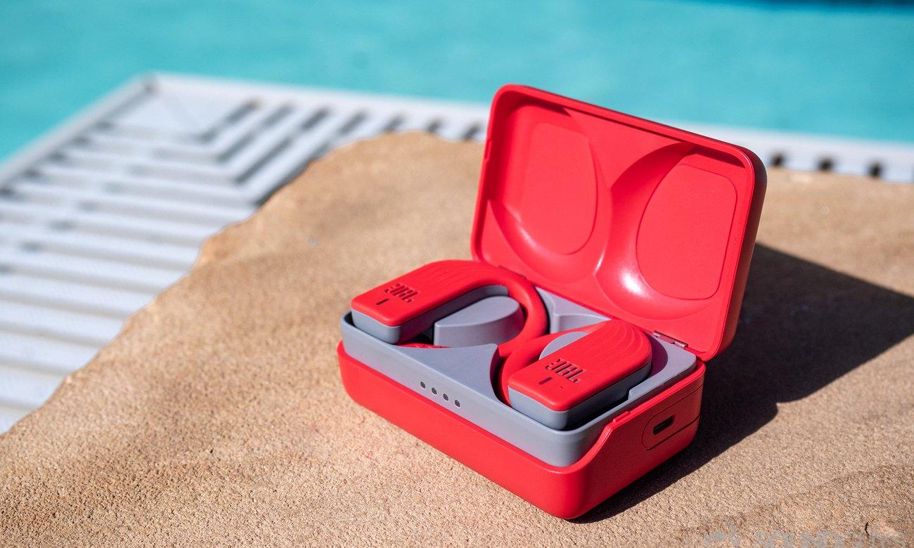 Wodoodporne słuchawki JBL Endurance PEAK