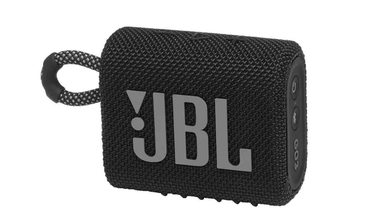 Przenośny głośnik Bluetooth JBL GO 3 czarny GO3BLK