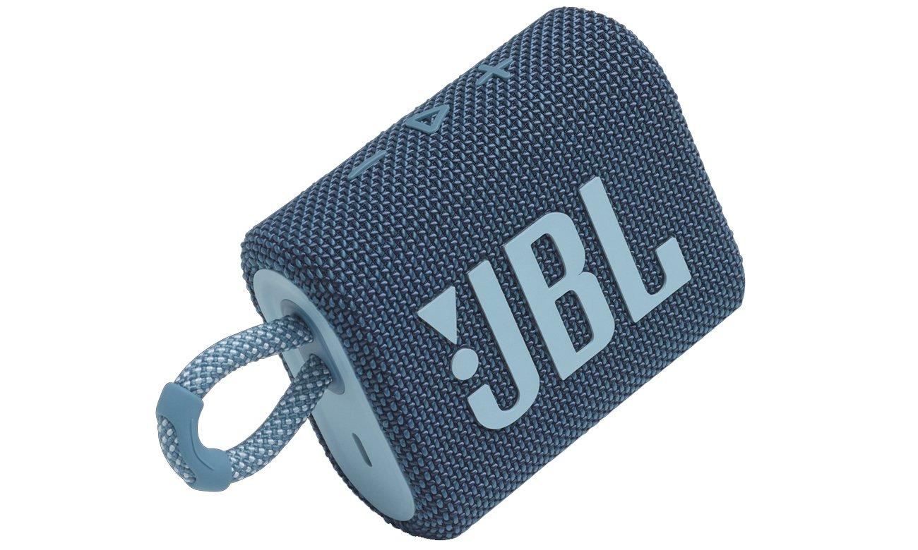 Głośnik bezprzewodowy BT JBL GO 3 z mocną baterią