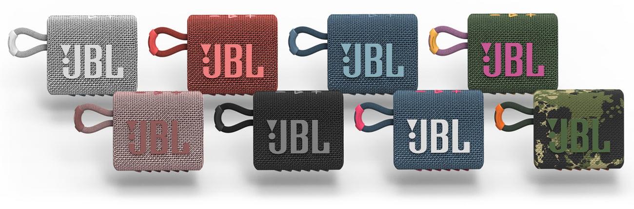 Niewielki głośniki przenośny GO 3 JBL z mikrofonem