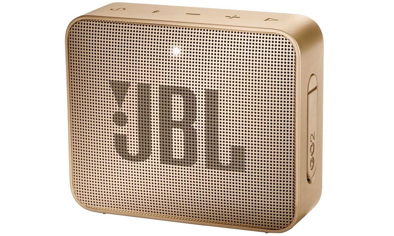 Wytrzymały głośnik Bluetooth JBL GO 2 Szampański JBLGO2CHAMPAGNE