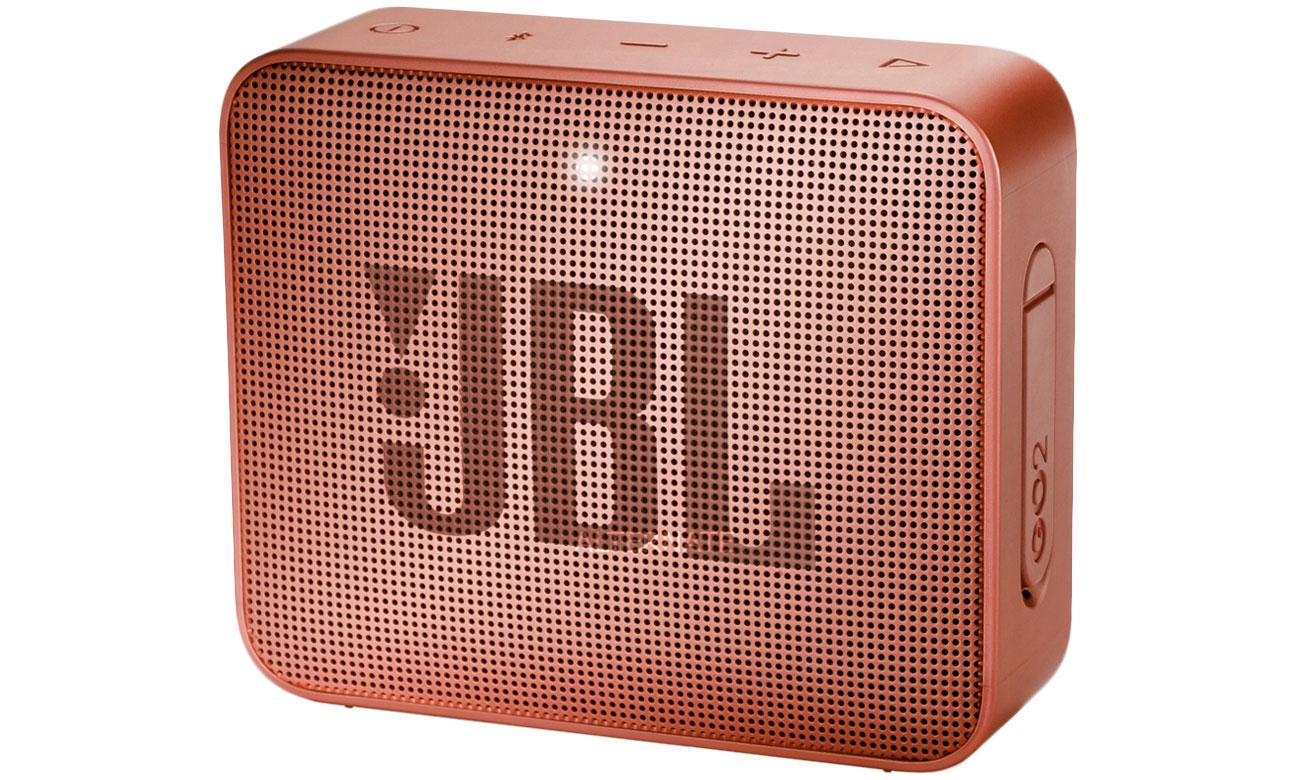 Wytrzymały głośnik Bluetooth JBL GO 2 Cynamonowy JBLGO2CINNAMON