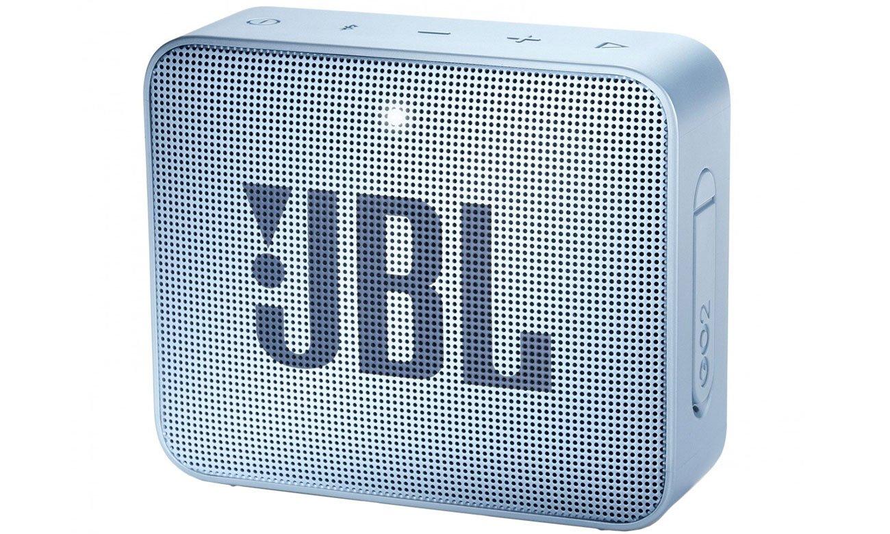 Wytrzymały głośnik Bluetooth JBL GO 2 Błękitny JBLGO2CYAN