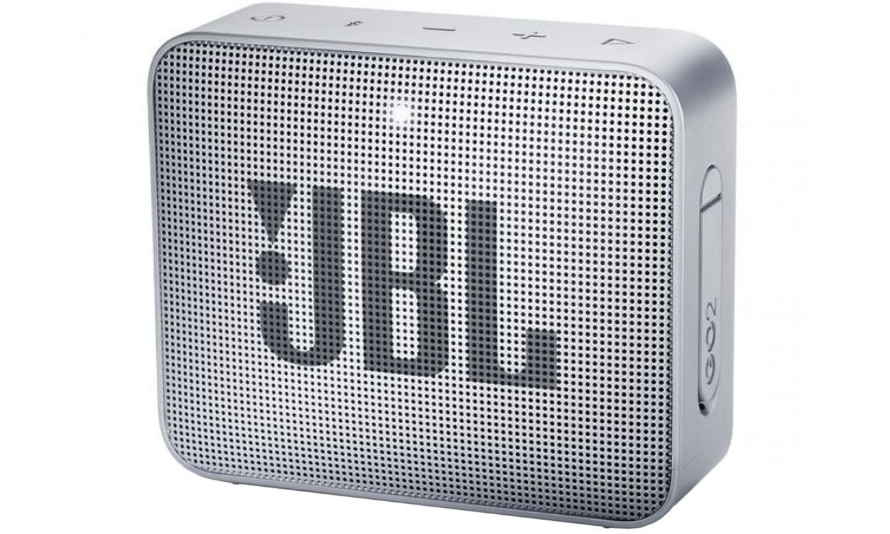 Wytrzymały głośnik Bluetooth JBL GO 2 Szary JBLGO2GRY