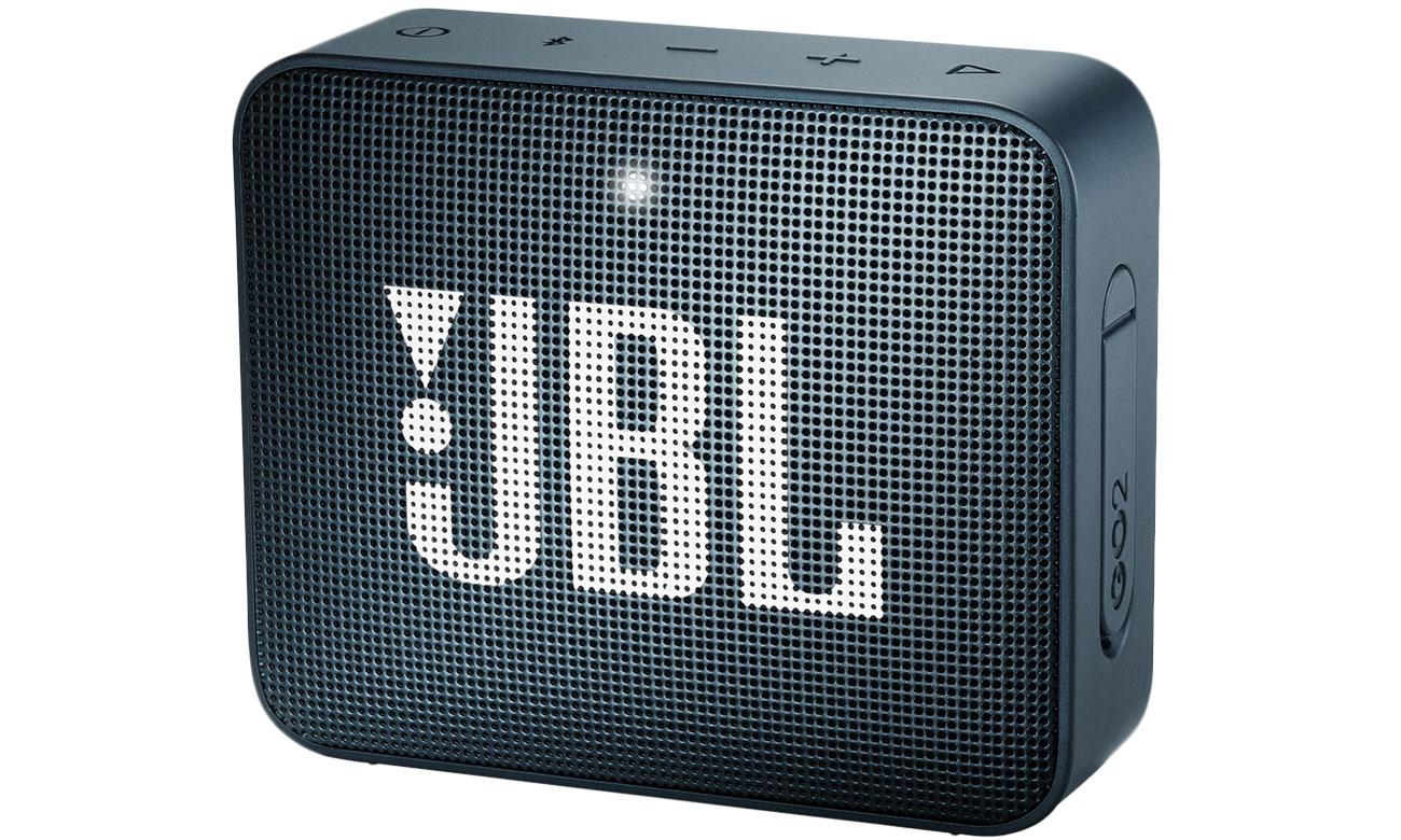 Wytrzymały głośnik Bluetooth JBL GO 2 Granatowy JBLGO2NAVY