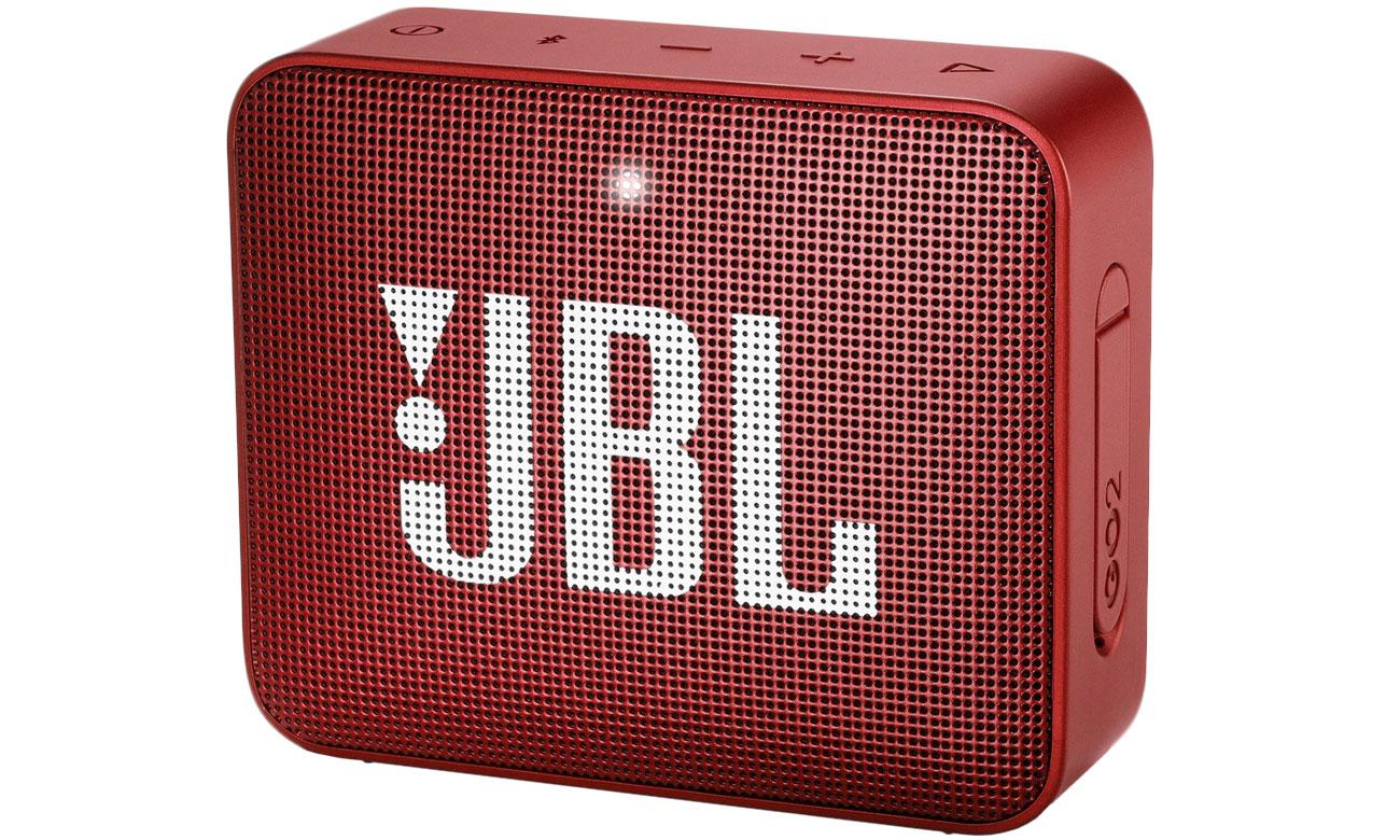 Wytrzymały głośnik Bluetooth JBL GO 2 Czerwony JBLGO2RED