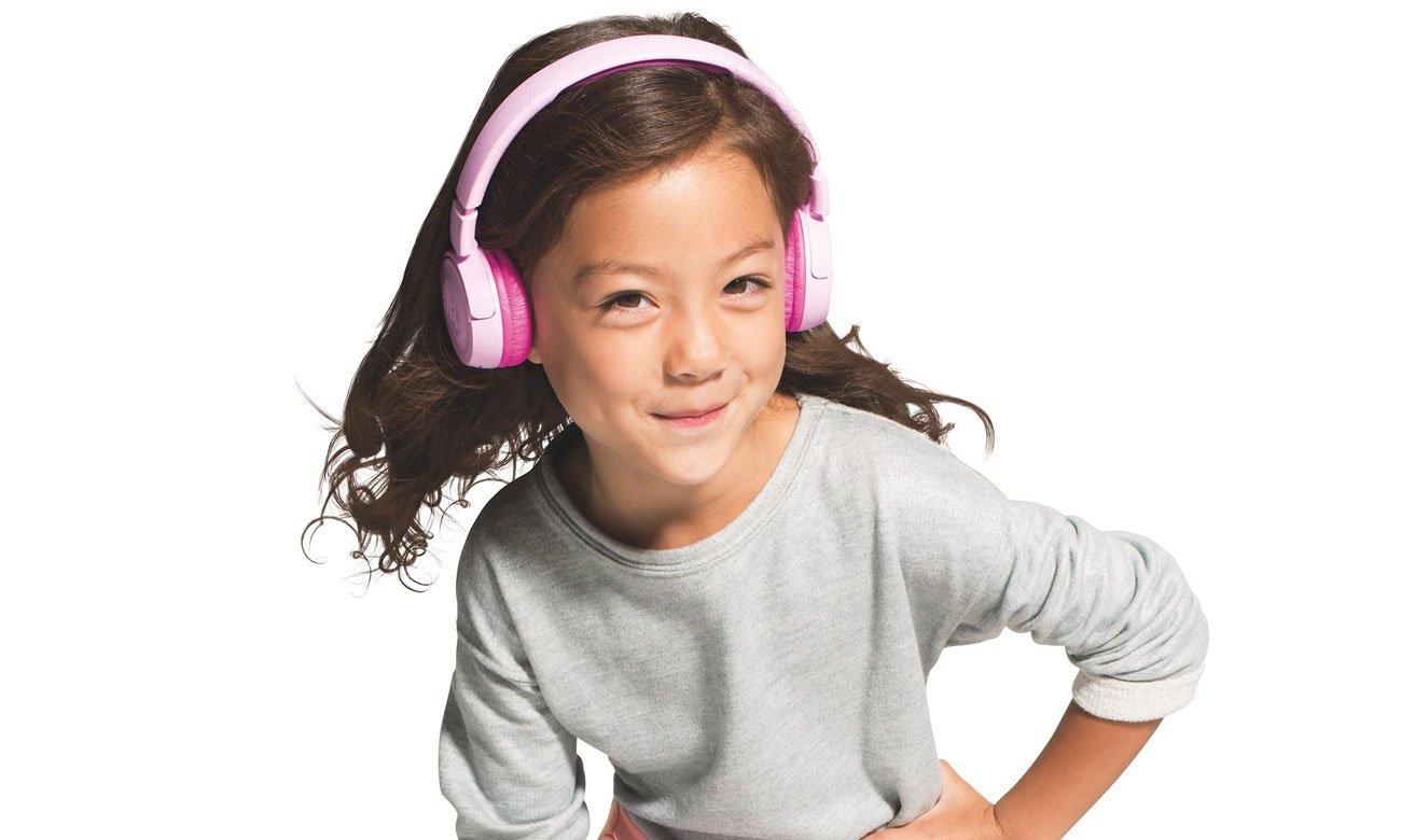 Słuchawki na prezent dla dziecka JBL JUNIOR JR300BT