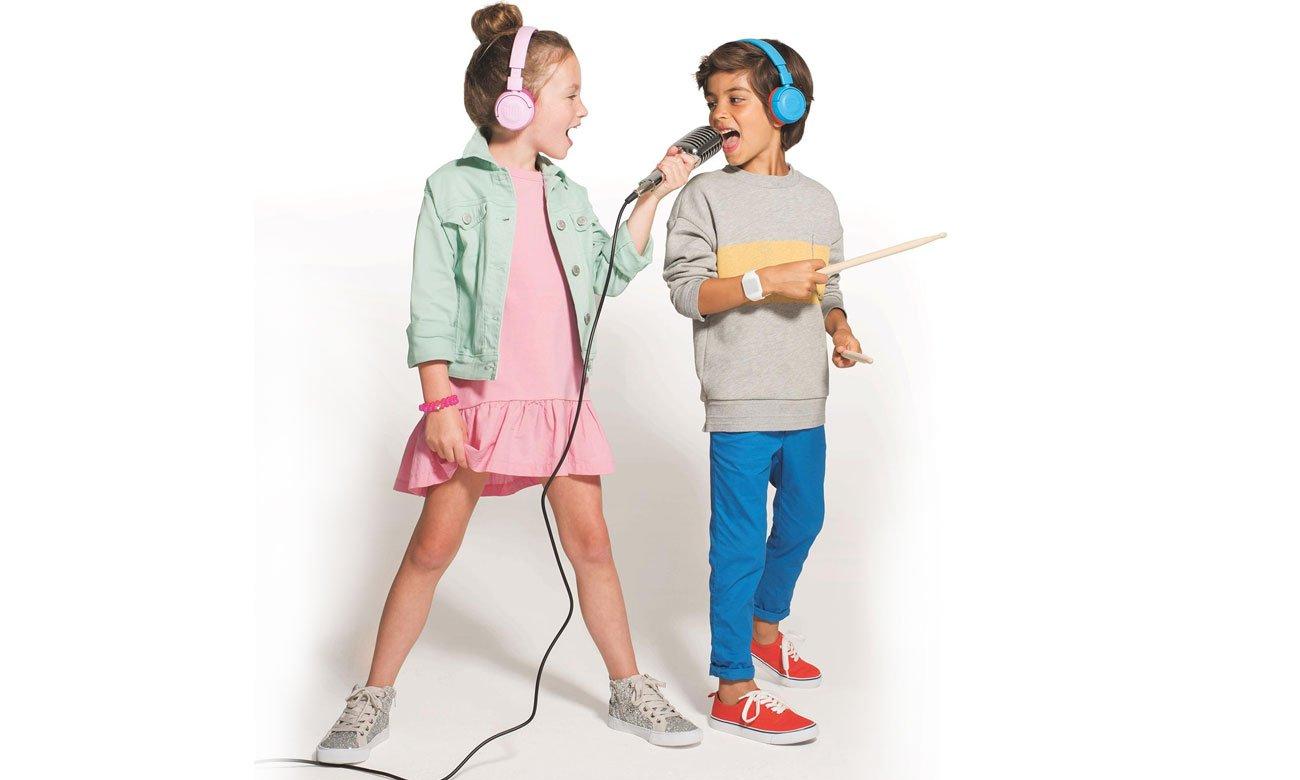 Słuchawki dla dziewczynki z ograniczeniem głośności JUNIOR JR300BT JBL