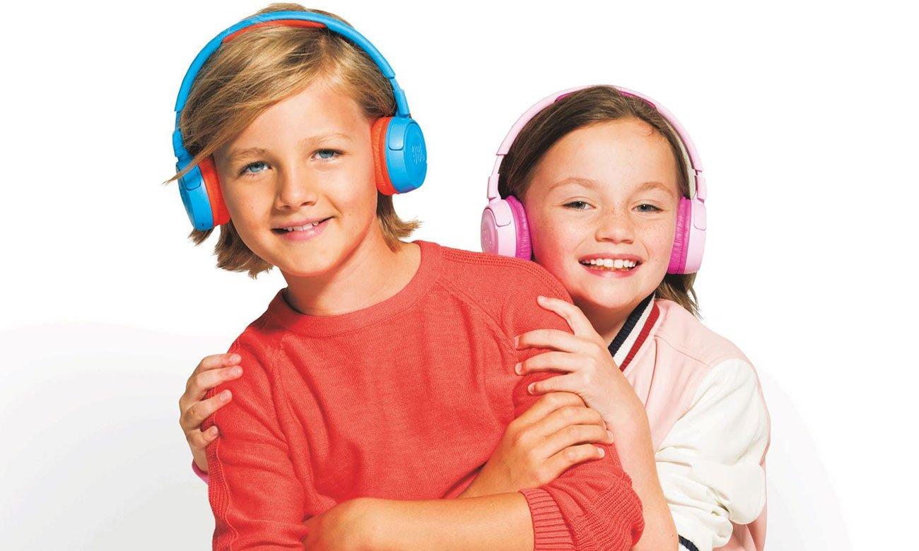 Słuchawki Bluetooth dla chłopca JBL JUNIOR JR300BT