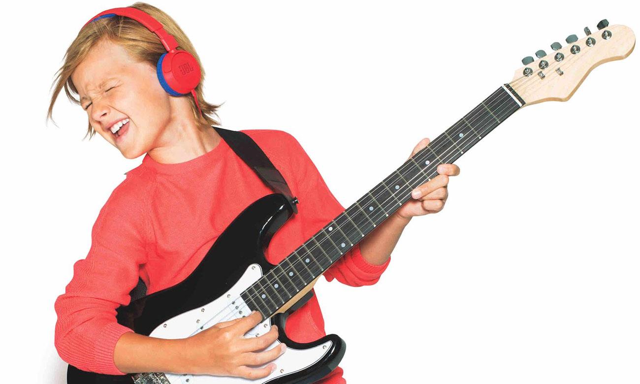 Słuchawki dla dziecka JBL JUNIOR JR300 niebieskie