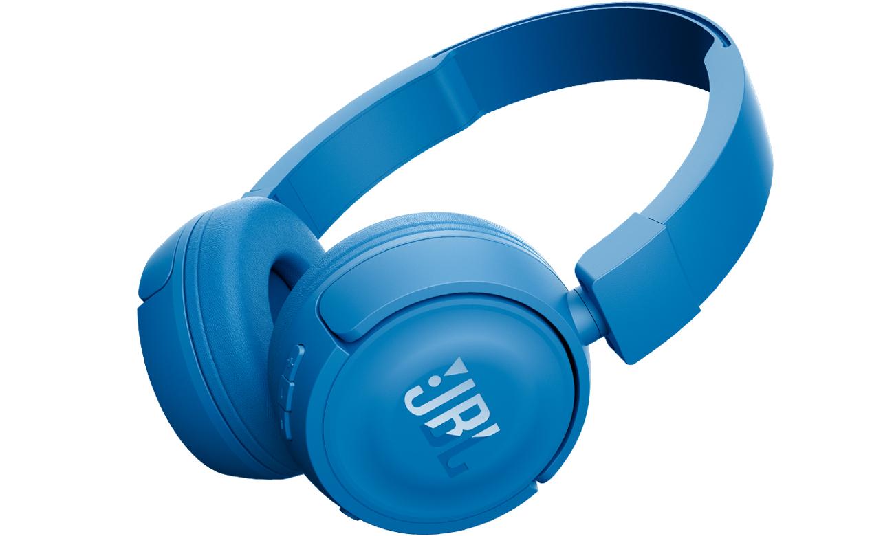 Nauszne słuchawki Bluetooth JBL T450BT niebieskie