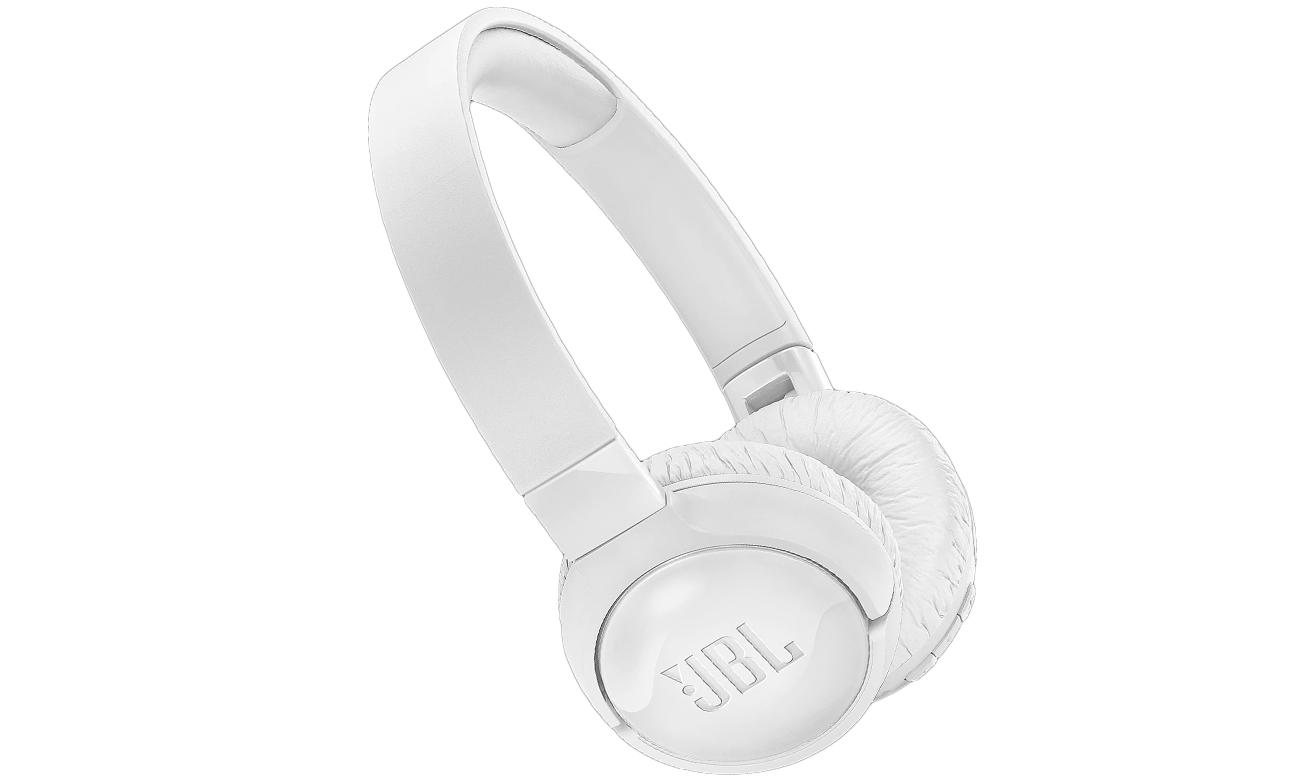 Słuchawki nauszne Bluetooth JBL T600BTNCWHT białe