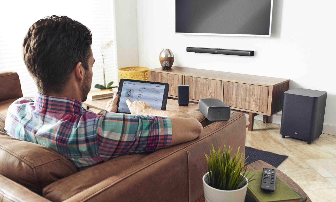 Soundbar do telewizora z Bluetooth JBL BAR 5.1