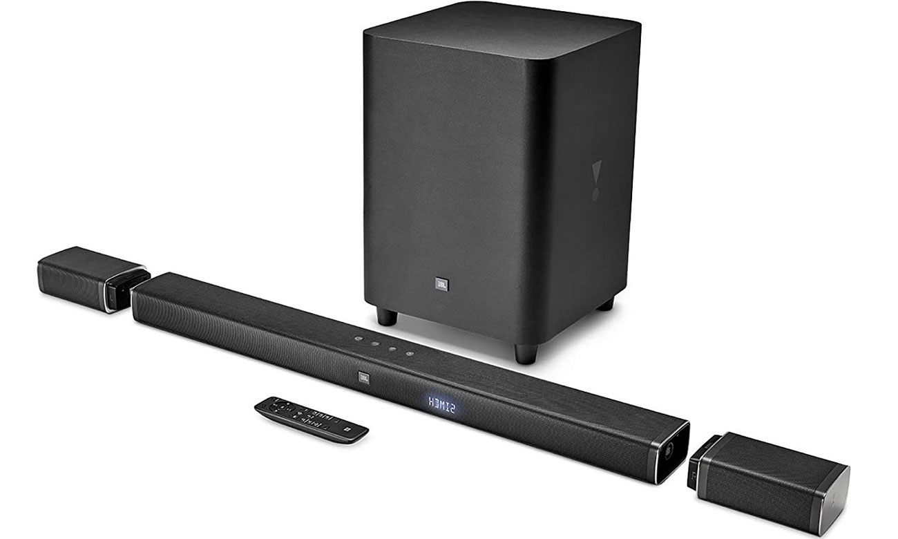 Listwa głośnikowa i subwoofer do tv JBL BAR 5.1