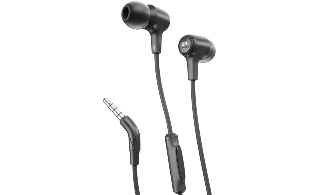 Słuchawki przewodowe JBL E15BLK czarne