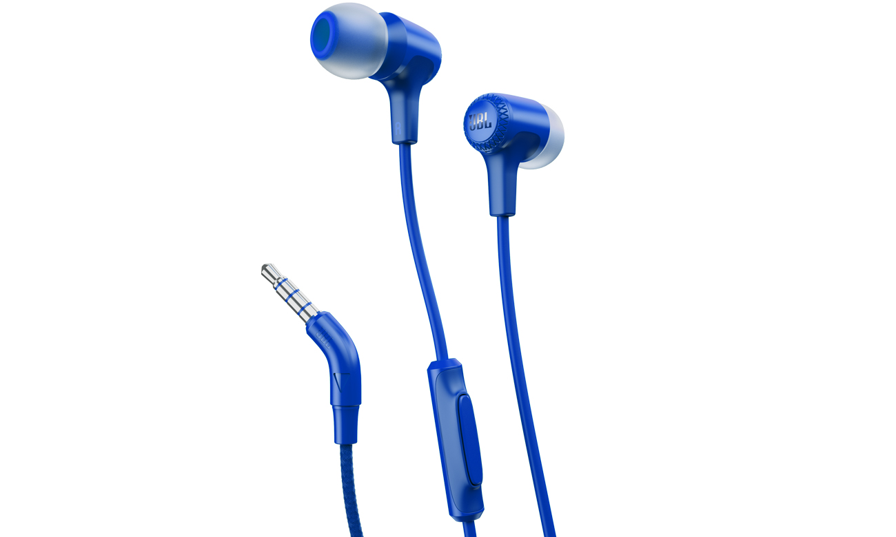 Słuchawki przewodowe JBL E15BLU niebieskie