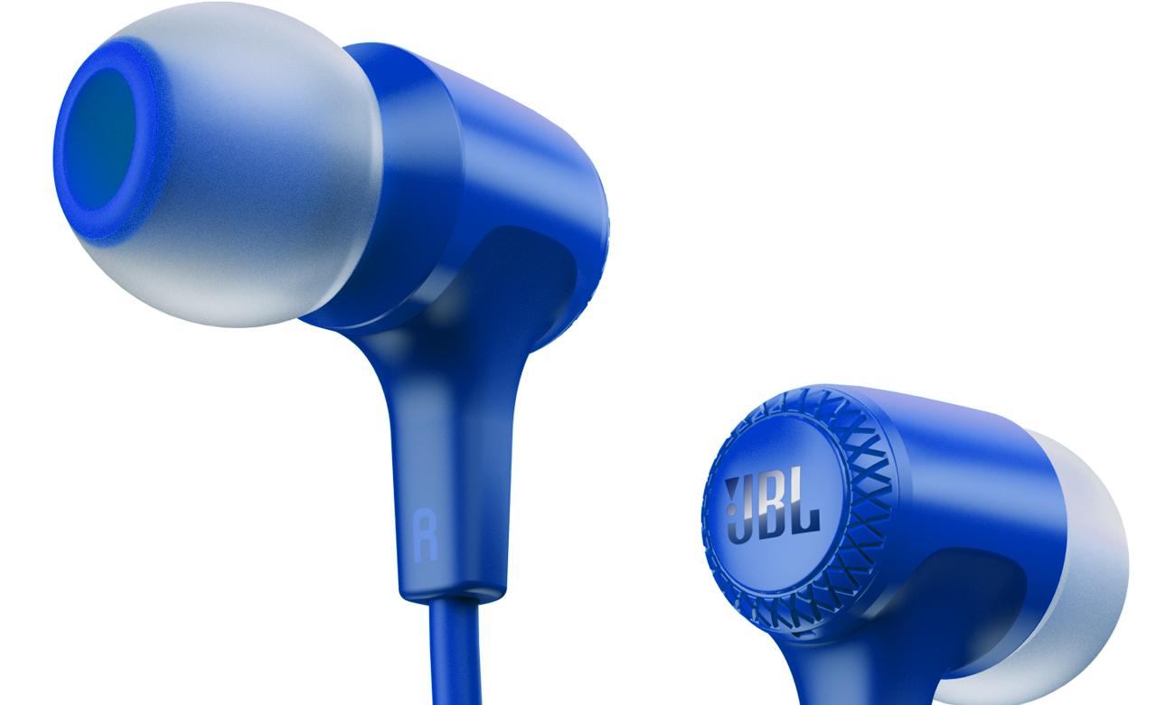 Silikonowe końcówki do E15 JBL niebieskich