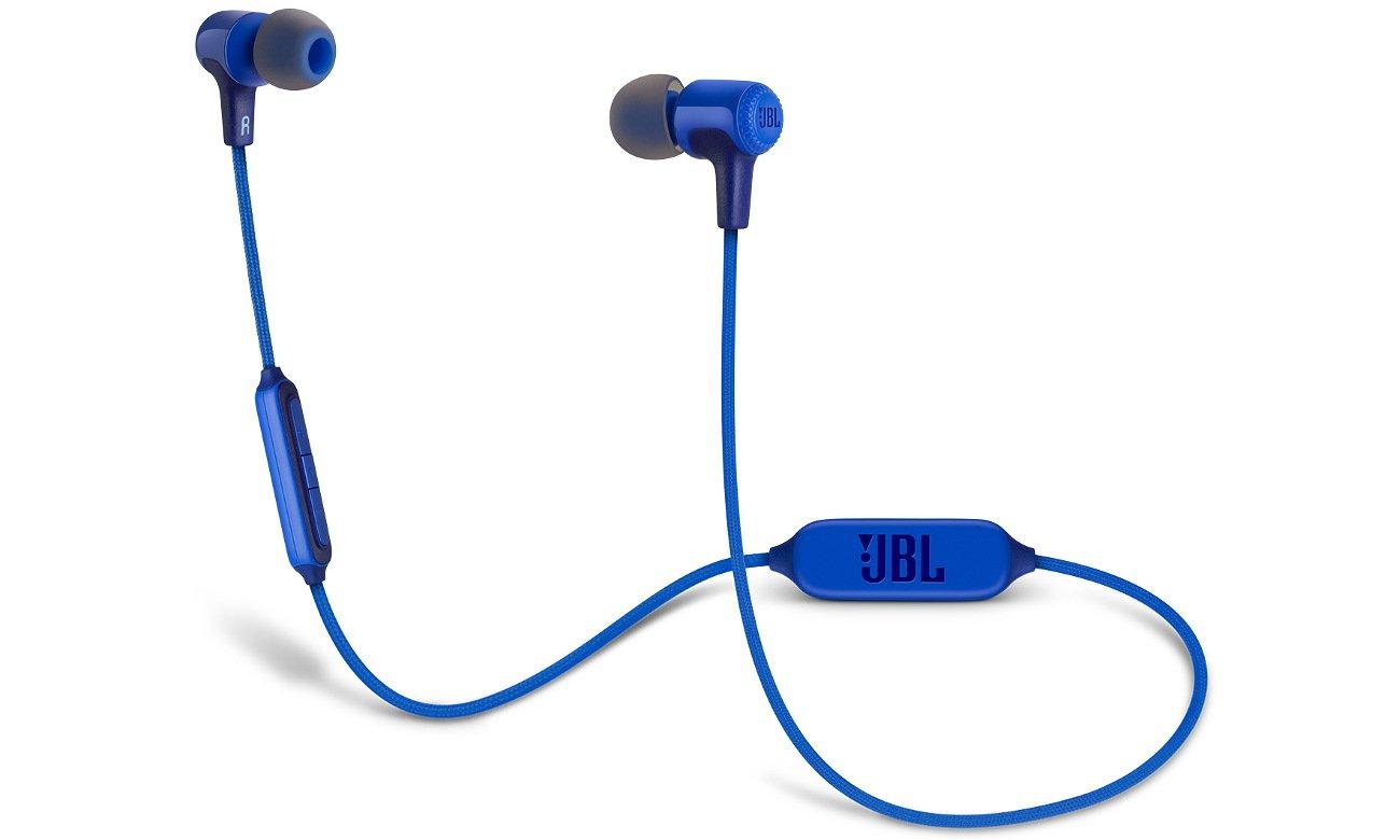 Słuchawki bezprzewodowe JBL E25BT niebieskie E25BTBLU