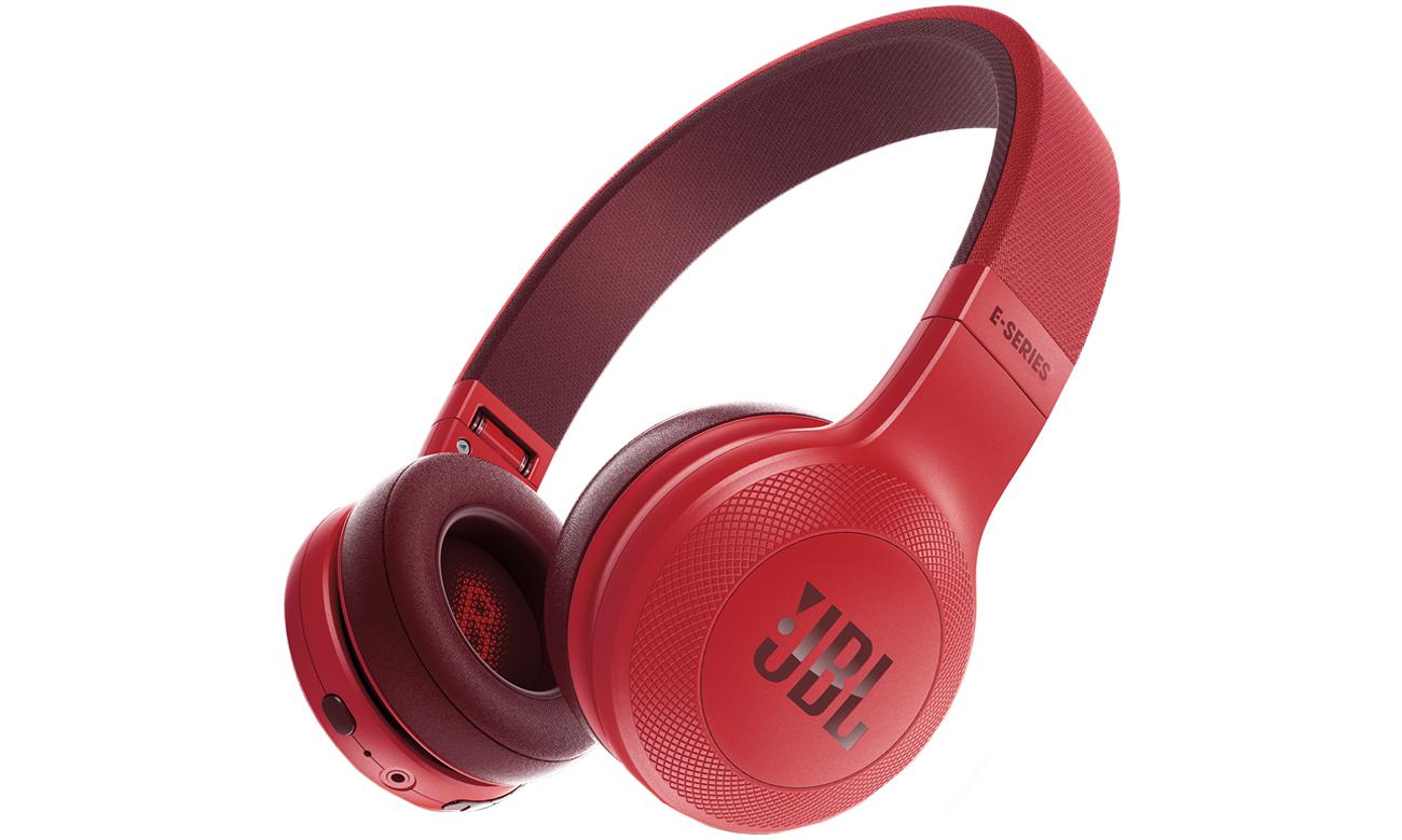 Słuchawki bezprzewodowe bluetooth JBL E45BT czerwone
