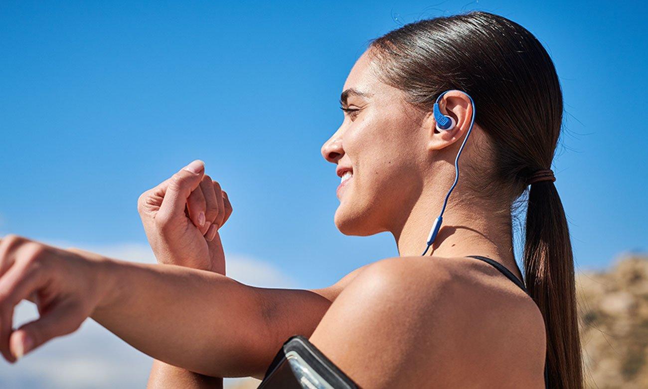 Wygodne słuchawki sportowe JBL Endurance RUN