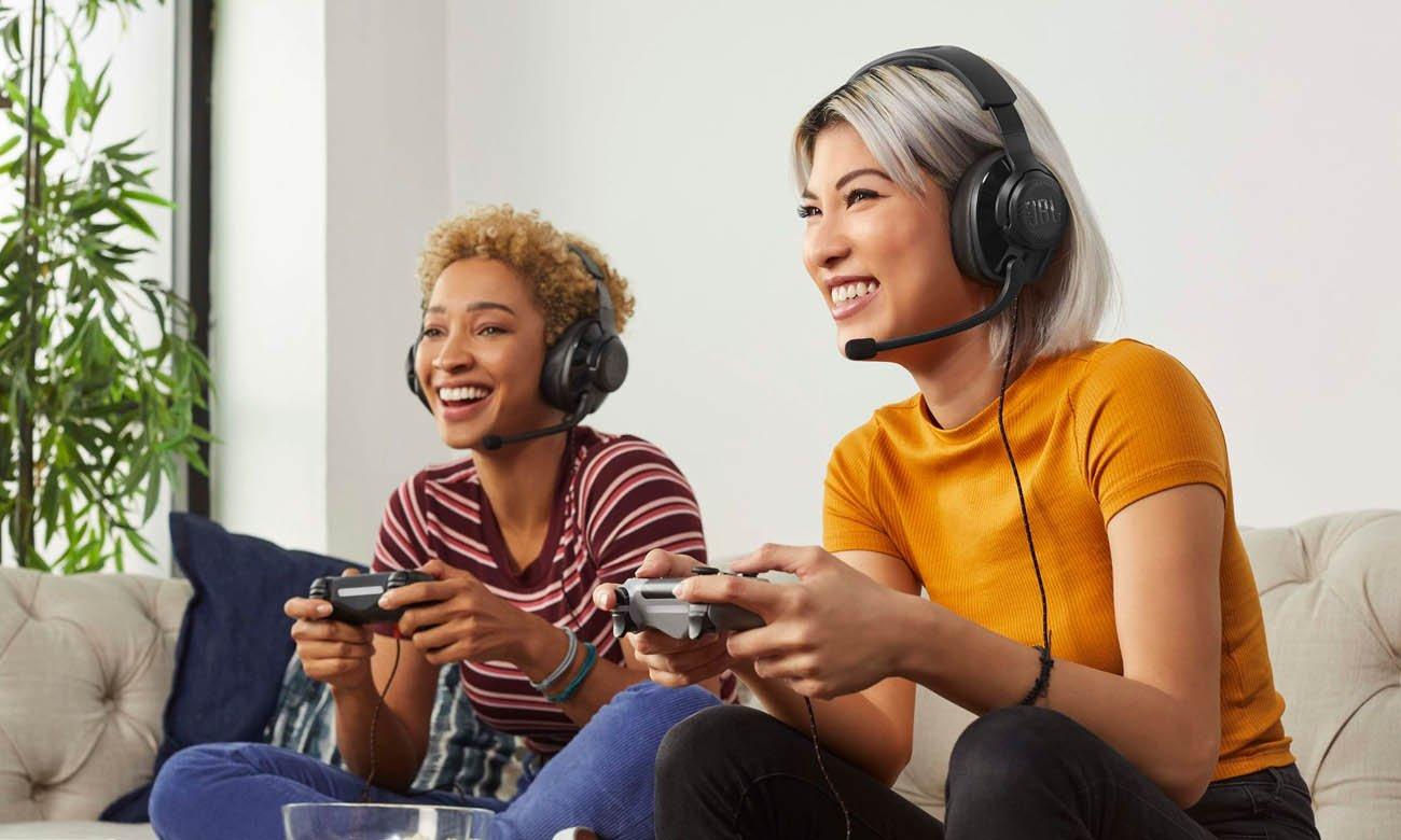 Wygodne i lekkie słuchawki gamingowe JBL Quantum 300