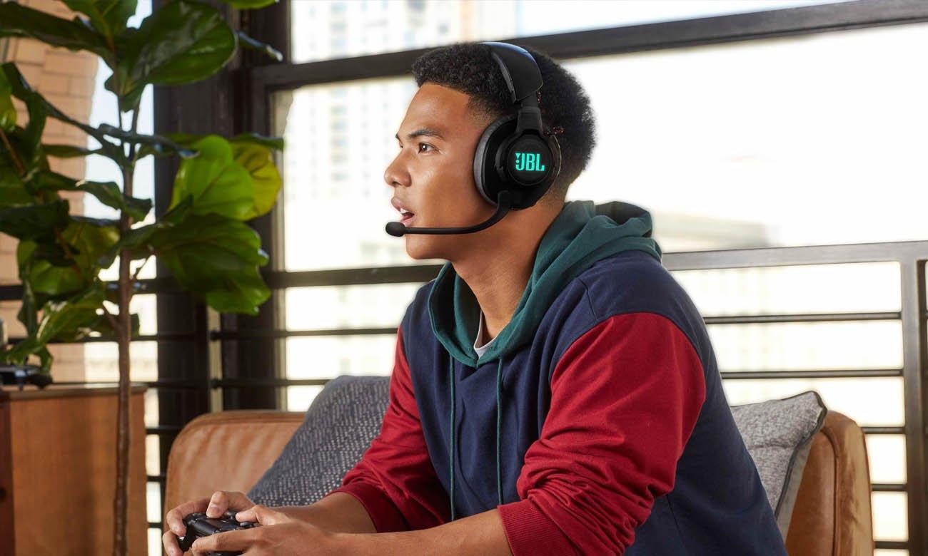 JBL Quantum 600 - bezprzewodowy wokółuszny zestaw słuchawkowy do gier