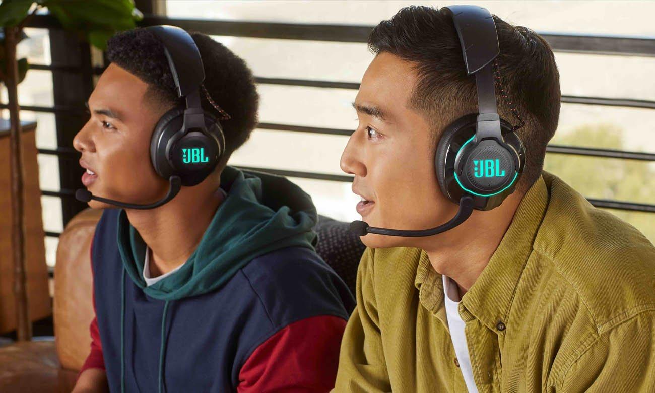 Wygodne i lekkie słuchawki gamingowe JBL Quantum 600