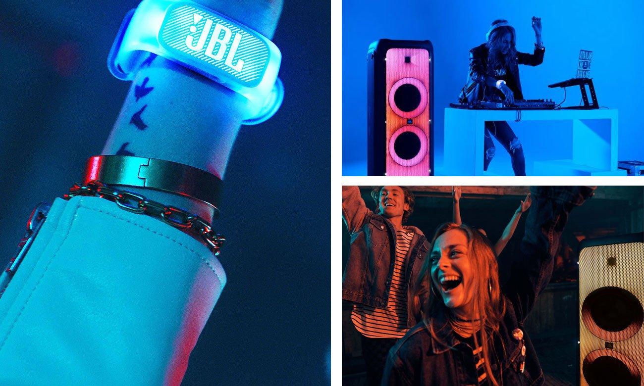 Imprezowy głośnik z efektami świetlnymi JBL PartyBox 1000